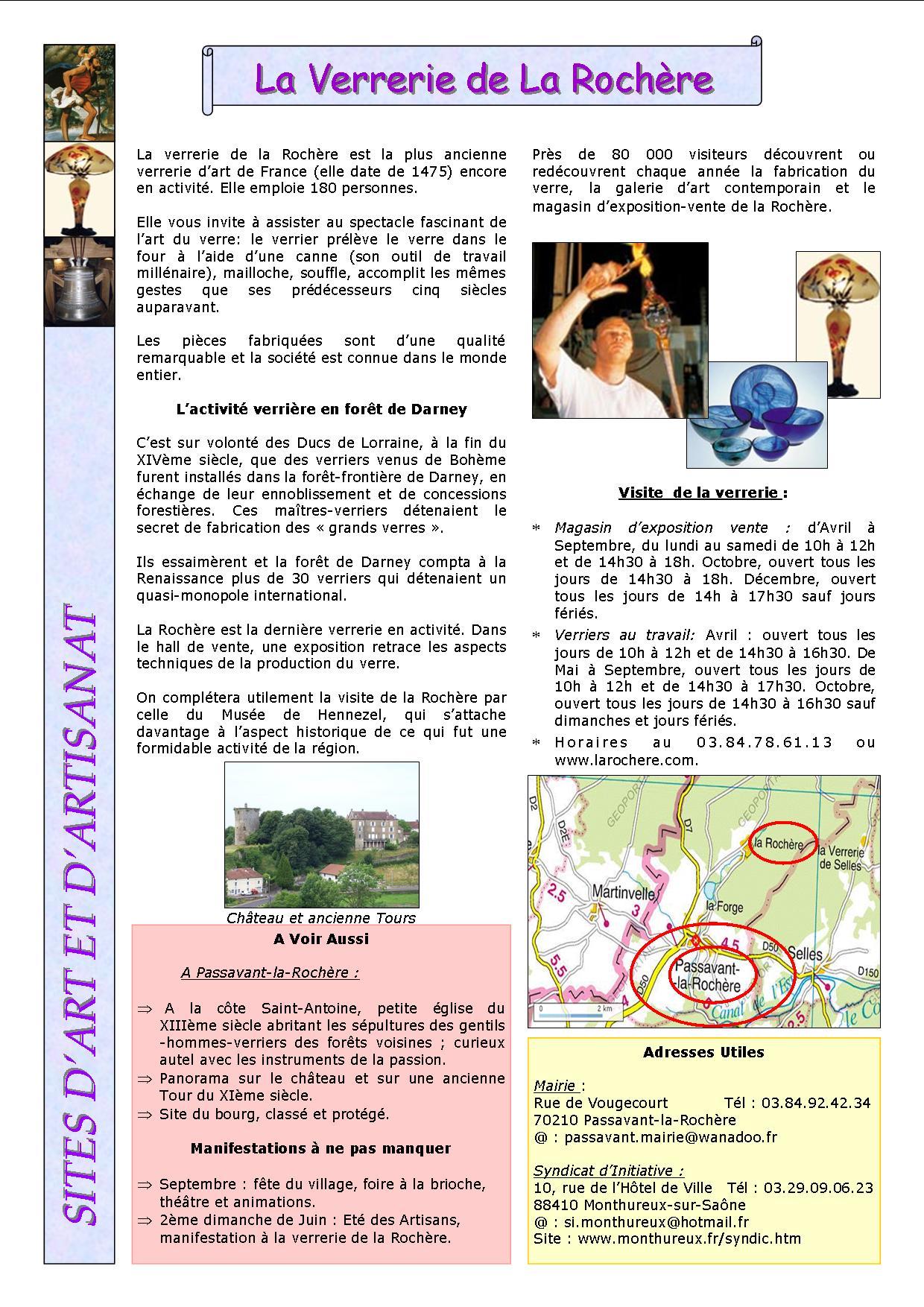 Passavant-la-Rochère